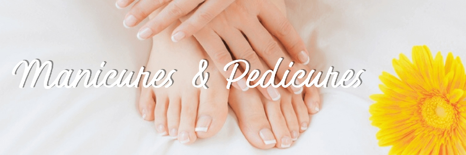 manicured hands and feet