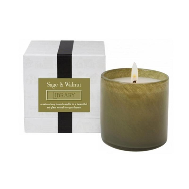 Lafco Library Candle - Stonebriar Spa Frisco, TX
