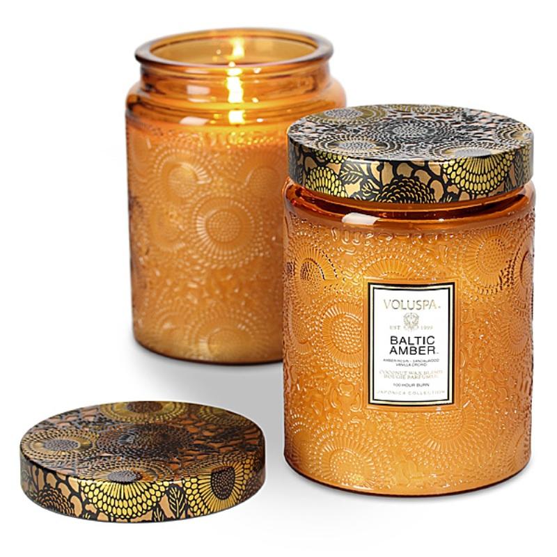 VOLUSPA Baltic Amber Large Jar Candle - Stonebriar Spa Frisco, TX