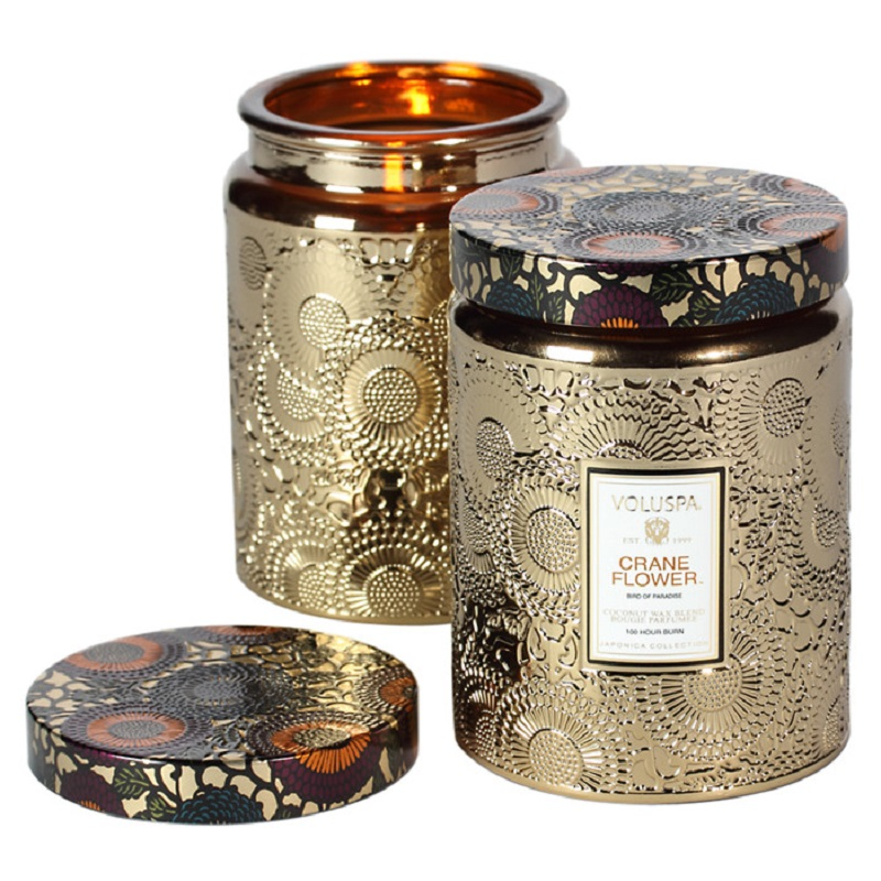 VOLUSPA Crane Flower Large Jar - Stonebriar Spa Frisco, TX