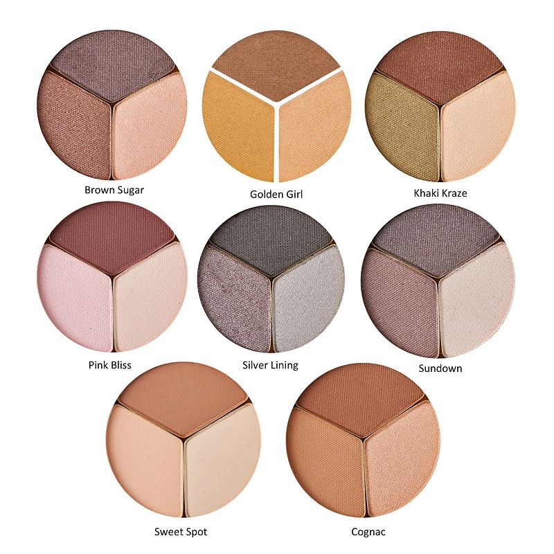 Pure Pressed Triple Eye Shadows - Stonebriar Spa Frisco, TX