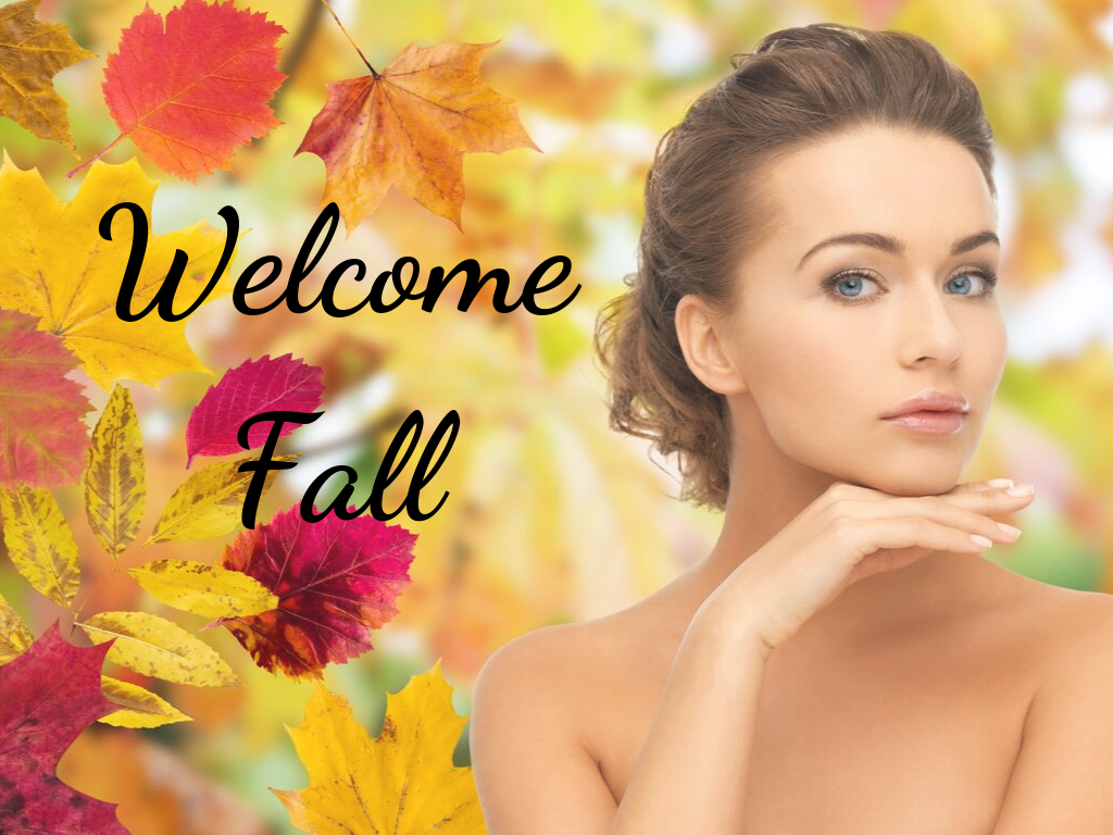 Welcome Fall Spa Secials