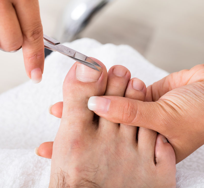 men's pedicure